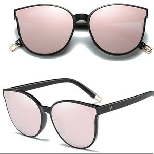 Accessories - 🌷 Luxury Gold-Rose Mirrored Sunglasses